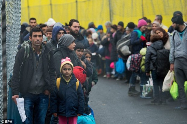 The crime figures covers crimes by immigrants from January to December last year, a time when over a million asylum seekers poured into Germany