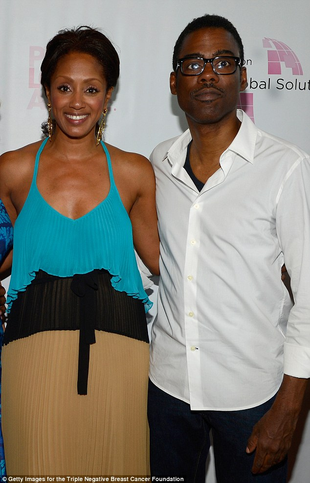 Chris Rock On Valentines Day With Arrow Actress Megalyn