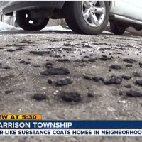 Mysterious Black Rain Falls Over Michigan Town