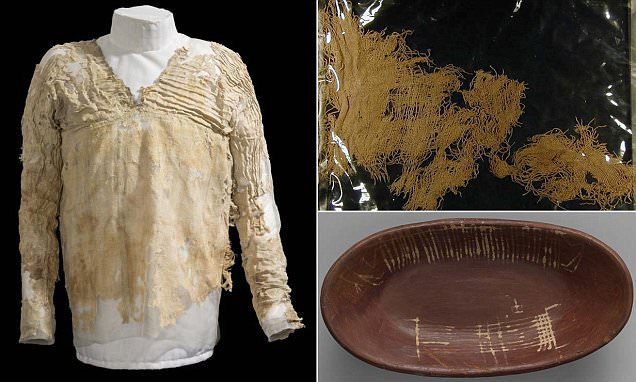 5k year old Egyptian Tarkhan Dress confirmed as worlds