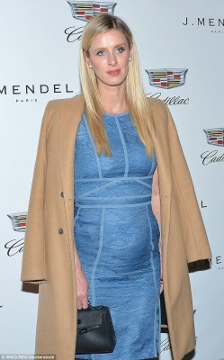 Nicky Hilton Debut Babybump At J. Mendel's NYFW Closing Show