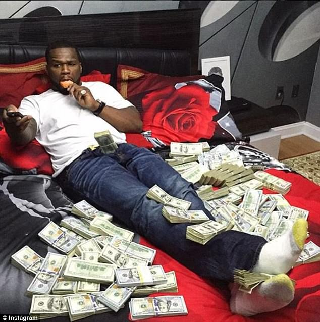 A bankruptcy judge told 50 Cent that these images are raising doubts about his actual financial status