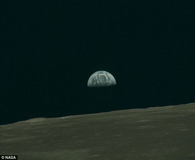 Mysterious: Typical explanations for such sounds — including interference caused by magnetic fields or atmospheres — do not apply on the moon, leaving their origin a mystery