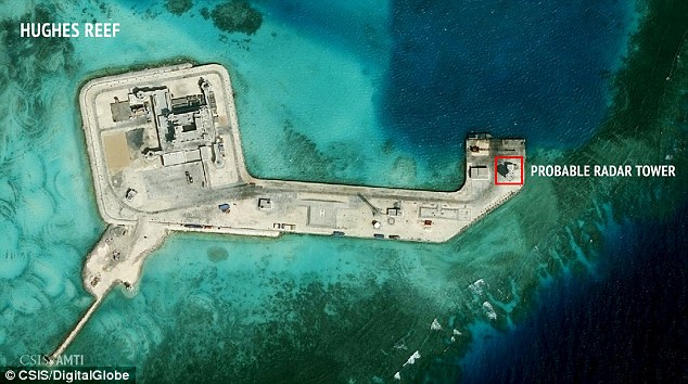 Since the man-made islands are capable of hosting military bases, other countries have grown testy