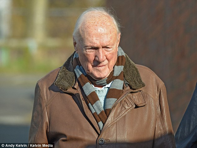 Fall from grace: The ex-BBC presenter Stuart  Hall has spoken out in the first interview since his release from jail in December, after he was charged with abusing 13 girls - one of whom was just nine years old