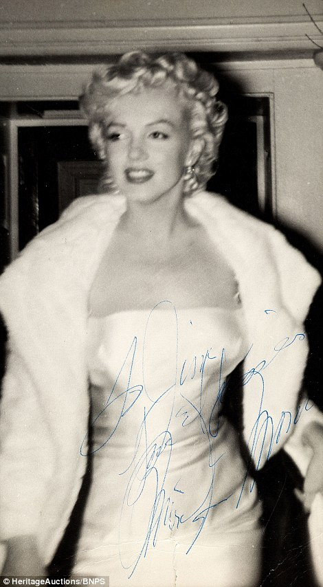 Superfan James Collins who stalked Marilyn Monroe sells photograph collection  Daily Mail Online
