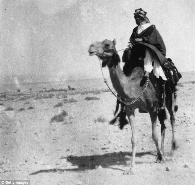 Previous accounts had suggested Lawrence of Arabia was gay, but Mr Benson-Gyles said that is false