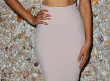 Shanina Shaik flaunts her figure at front cover launch for Ocean Drive Magazine   Daily Mail Online