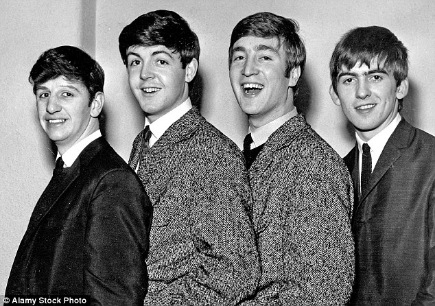 The Fab Four pictured in 1962. From left: Ringo Starr, Paul McCartney, John Lennon and George Harrison