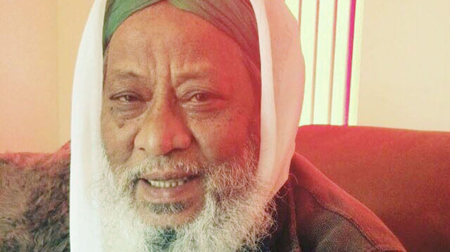 Former Imam Jalal Uddin, pictured,  died after being found with serious head injuries in a Rochdale playground