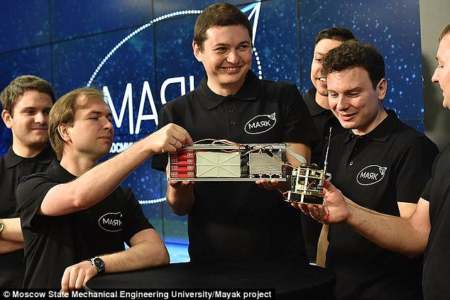 Students from the university are also taking part in the crowdfunded project to launch the orbital spacecraft