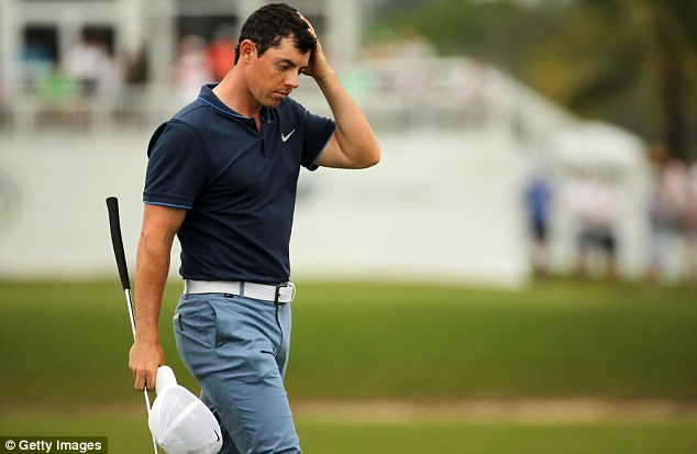 Rory McIlroy way off the pace after a tough opening round ...