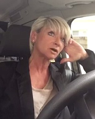 Businesswoman Rosita Kohzina recorded her furious rant just minutes after the final assault in which she said a man tried to force open her car doors at a traffic light on a trip to Vienna