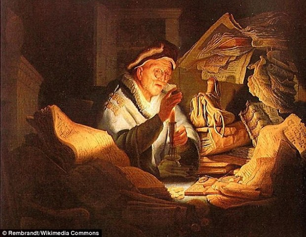 Medieval moneylenders (depicted in this painting by Rembrandt) ensured a flow of credit in cities that was not readily available in cities were Jews were expelled. Christian laws forbade the lending of money for interest, so Jews were able to dominate money lending, and in the cities where they remained, leading to the first banks