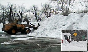 Harrisburg PA is STILL plowing snow from January blizzard despite it being 70 degrees