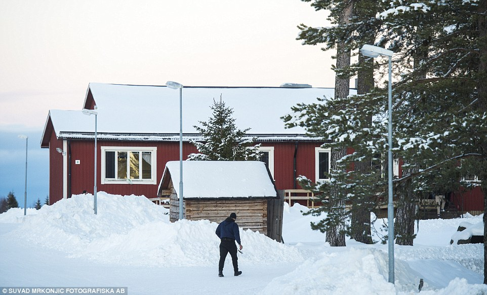 Arrivals: At least 900 immigrants are now living in a centre 10km outside of Östersund, which some blame young men living there for the rise in attacks. A man was caught allegedly attempting to flee to Germany on board a ferry in southern Sweden
