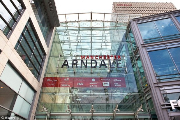 Police arrested a 19-year-old suspect in connection with the alleged rape of a man in his 50s at the Arndale Centre in Manchester yesterday morning. The victim claims he was attacked in the toilets of the Next store