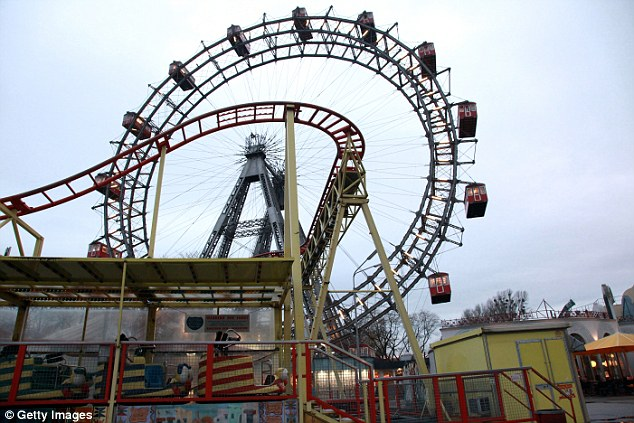 Reported: The younger of the two women called police to report that her friend was being held against her will at a property close to Prater amusement park (pictured)