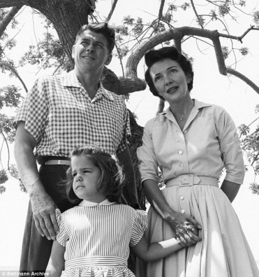 Image result for nancy reagan and baby patti