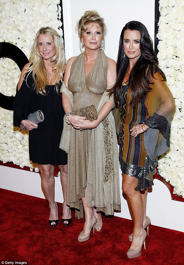 Before the drama: The 90210 squad all prettied up at the  QVC at Four Seasons Hotel Los Angeles at Beverly Hills in 2012