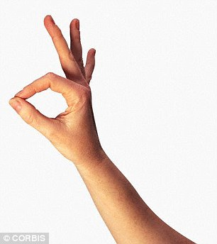 In order ease pain in the hand, carry out simple exercises such as making fists and 'OK signs'