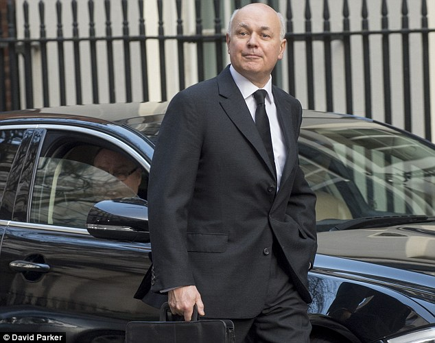 iain duncan smith quits cabinet over disability benefit cuts