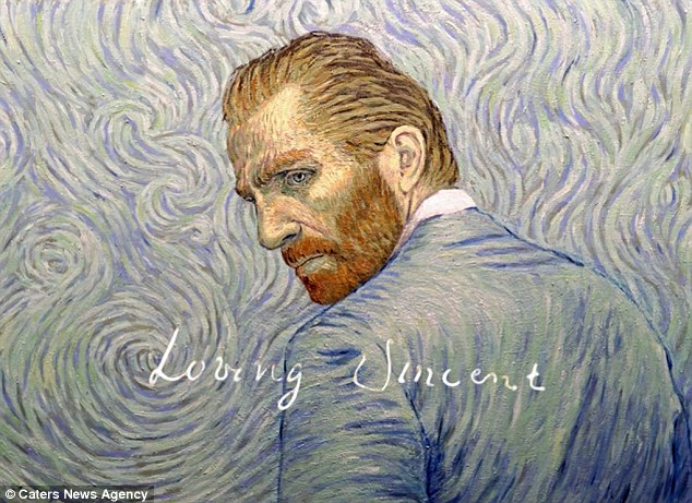 Trailer for new Vincent Van Gogh biopic shows detail of the painted animation  Daily Mail Online