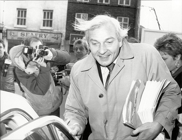 Mr Proctor, pictured in 1987, has strenuously denied allegations that he was part of a VIP paedophile ring that murdered three boys