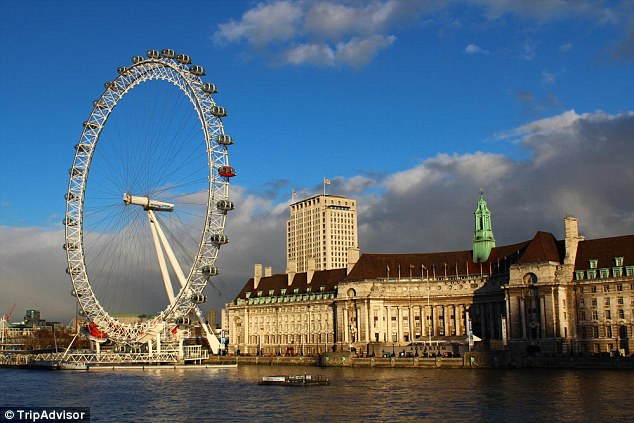 London has been crowned the world's number one destination in The TripAdvisor Travellers' Choice awards for destinations