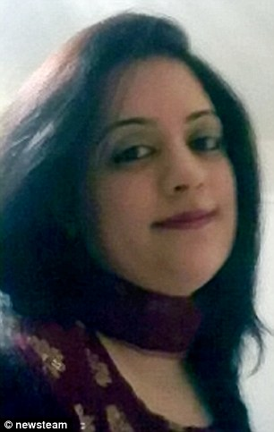 Miraculously Ms Akhtar, pictured, managed to awake from her coma and give detectives evidence