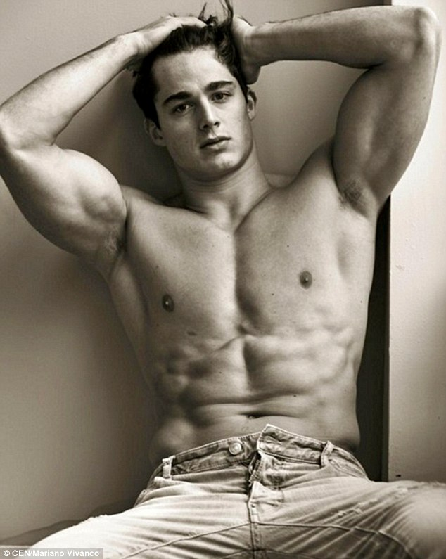Pietro Boselli, 28, rose to fame when his pupils shared his pictures online and entered him into a sexiest teacher competition which he won