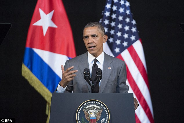 President Obama stayed in Cuba yesterday to first address the island nation's people, pictured, and talked less than a minute about Brussels. And  then he went to the baseball game