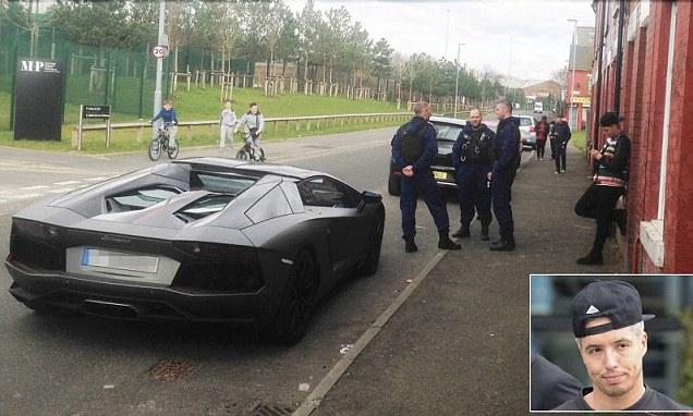 Man City star Samir Nasri has £330k Lamborghini Aventador impounded