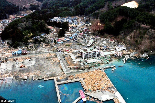 Advanced warning systems continue to be improved, meaning death tolls from events such as the 2011 tsunami in Japan should be reduced