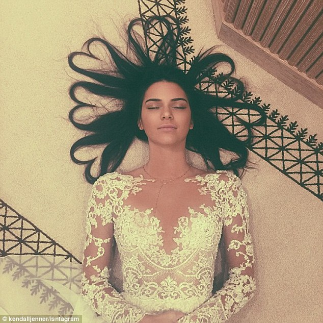 Social media star: The model has over 52 million Instagram followers (and this picture holds the record with the most liked with 3.5 likes) and says the trick is being two things - 'organic' and a 'mystery'