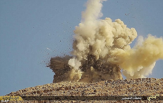 ISIS has already destroyed some of the ancient monuments in the city in yet another war crime