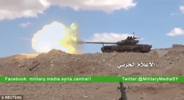 Syrian government forces have spent the past month advancing on the ancient city with the assistance of the Russian forces who have pounded ISIS positions in the area