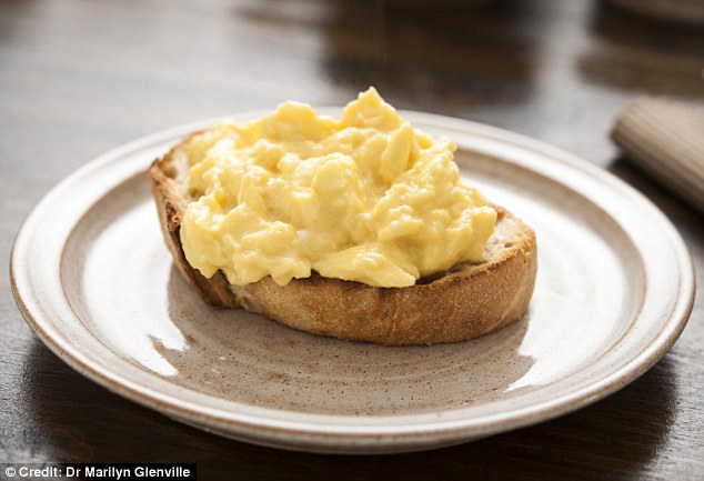Eggs may be high in cholesterol, but they also contain tryptophan which can boost serotonin production in the body - this 'feel-good hormone' is an excellent stress-buster. Start your day with eggs and wholemeal toast