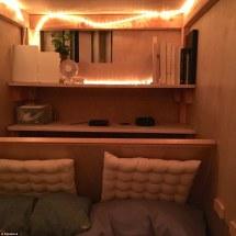 Eight Foot Bedroom 'pod' Built In San