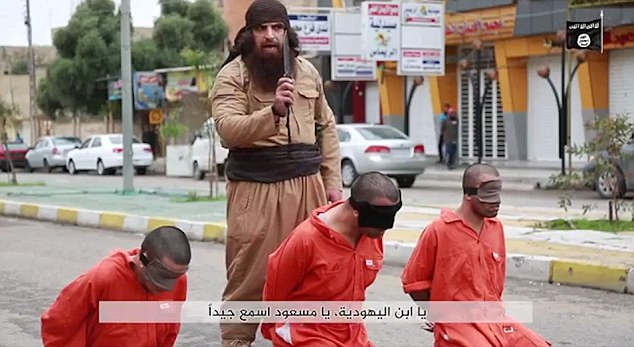 The video seemingly focuses on the recent airstrikes in Syria and Iraq on ISIS territory, claiming the executions were in retaliation for the death of civilians