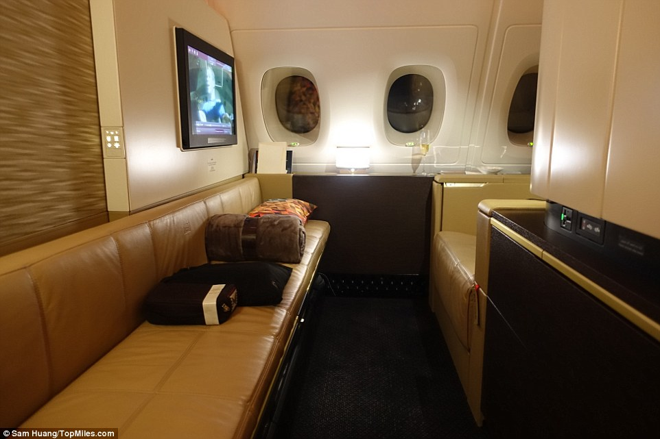 Etihad first class and The Residence revealed in Sam Huang