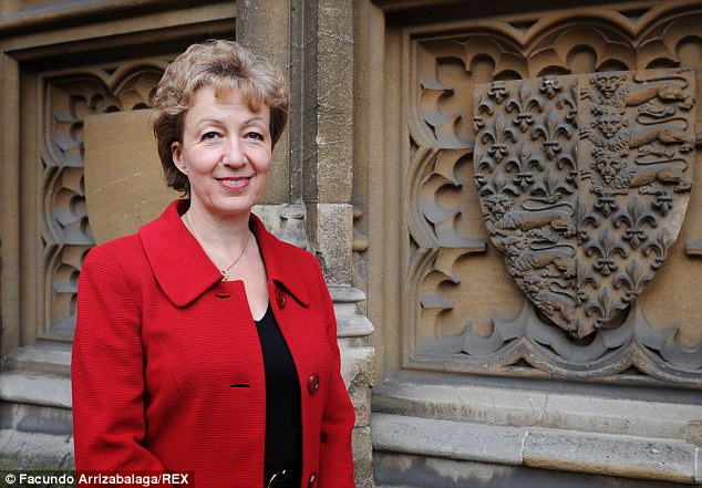 Mrs Leadsom, pictured, said wages would rise and unemployment fall if the UK was to leave the EU