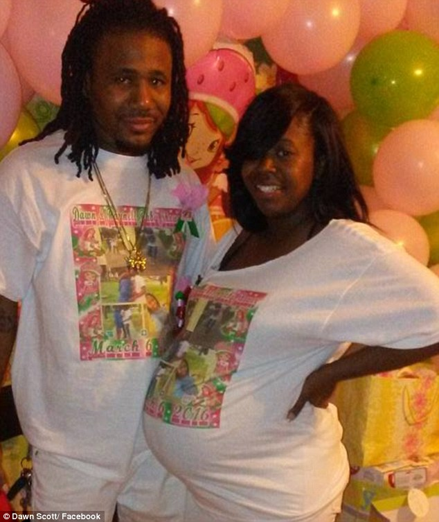 Dawn Ellen Scott, 28, and her boyfriend, Raynell Kimbrough, 31, were shot multiple times as they slept