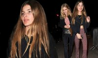 Donna Air is overshadowed by her daughter Freya at ...