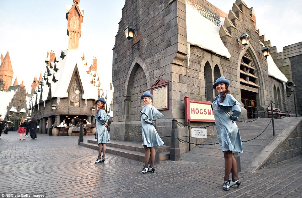 Harry Potter World Opens In Universal Studios In Hollywood