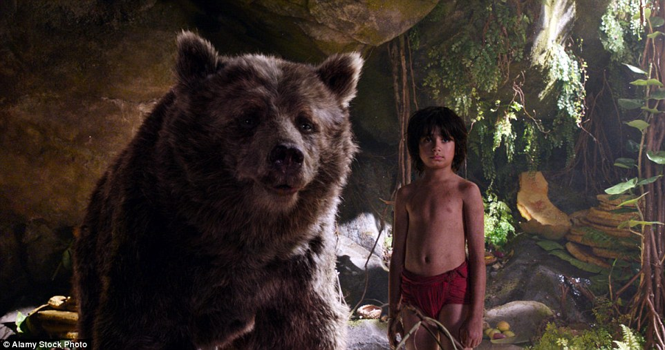 The Jungle Book is out now, and tells the story of Mowgli, who is raised by wolves and is friends with Bagheera and Baloo the bear