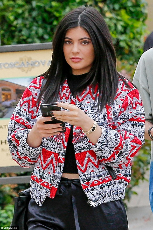 Kylie Jenner Rocks Adidas Tracksuit In Throwback With
