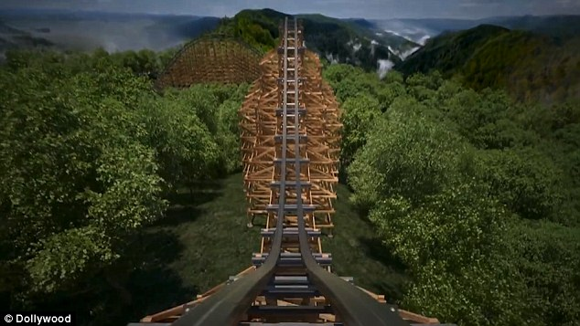 Lightning Rod is an innovative ride featuring new technology never before used on a wooden coaster