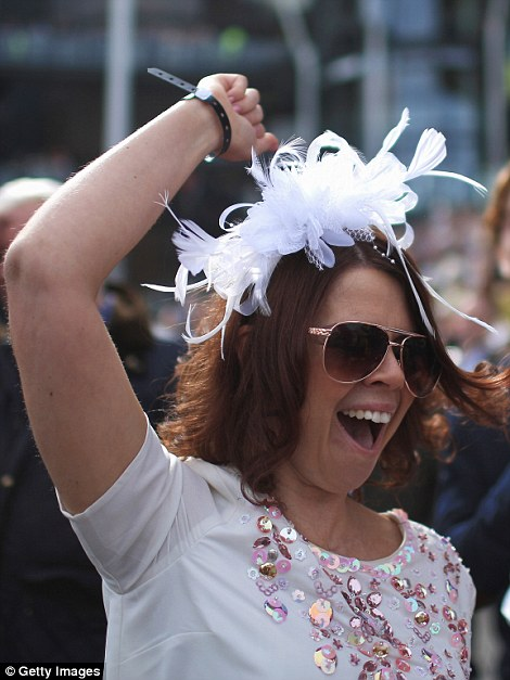 From the earliest arrivals this morning, right through the day, the ladies have been showing off their style in their best frocks and fascinators
