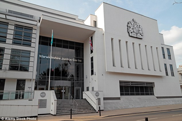 The couple, aged 68 and 59, are due to appear at Warwickshire Magistrates' Court, pictured, on May 11
